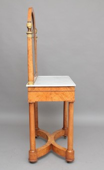 Antique 19th Century  burr elm dressing table
