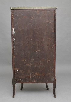 Antique 19th Century Kingwood display cabinet