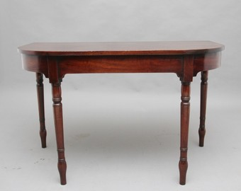Antique Pair of early 19th Century mahogany console tables