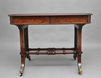 Antique Early 19th Century mahogany writing table