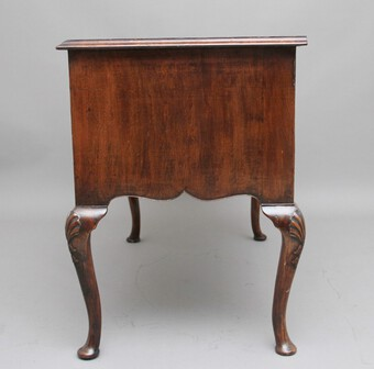 Antique 18th Century walnut and feather banded lowboy