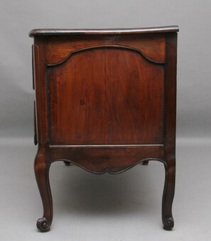Antique Early 19th Century French walnut commode