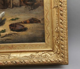 Antique 19th Century fine quality oil painting