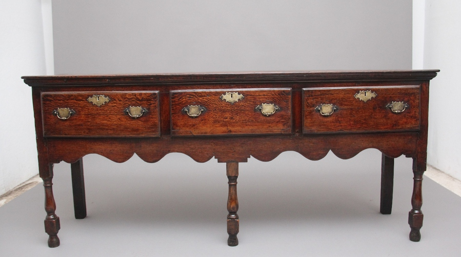 Mid 18th Century oak dresser