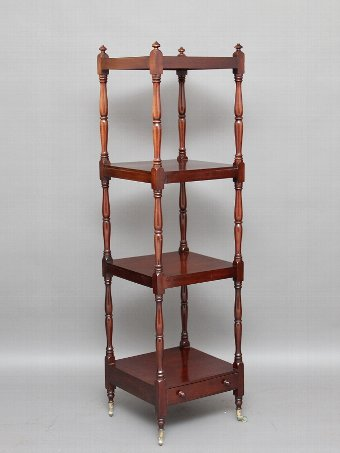 Antique Four tier whatnot