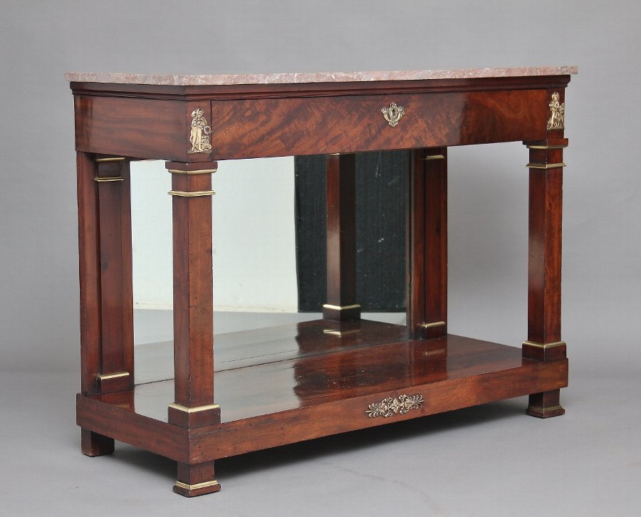 19th Century French Empire console table