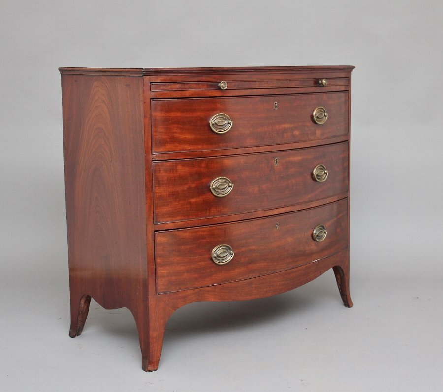 Early 19th Century mahogany chest