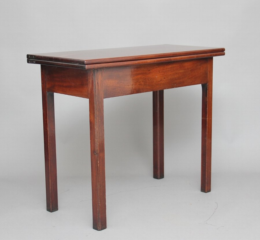 18th Century mahogany tea / side table