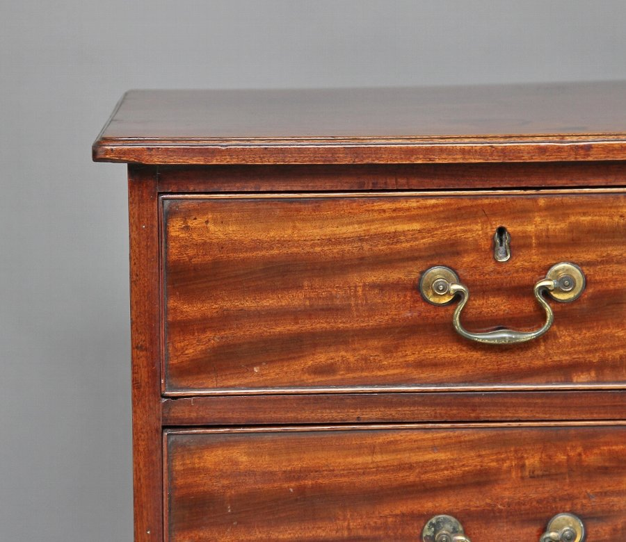 Antique 18th Century mahogany chest of drawers