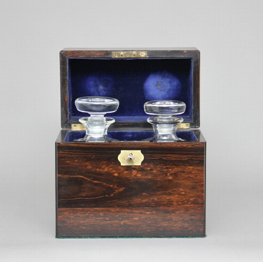 Antique 19th Century coromandel decanter box