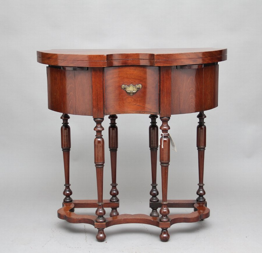 Antique 18th Century Dutch games table