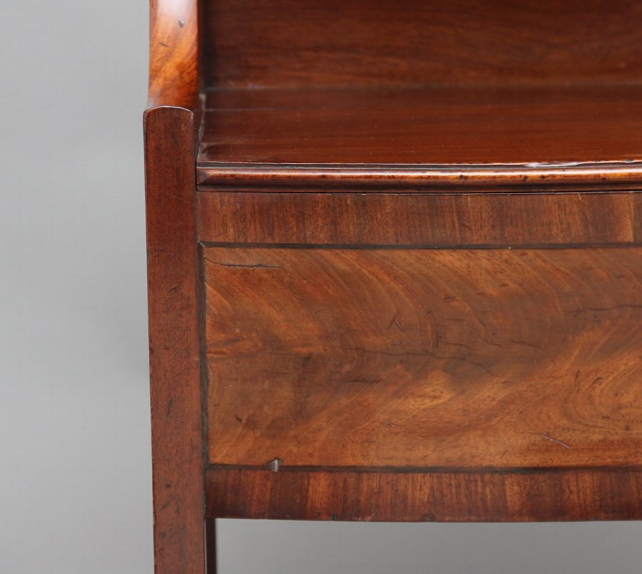 Antique Early 19th Century mahogany bedside cupboard