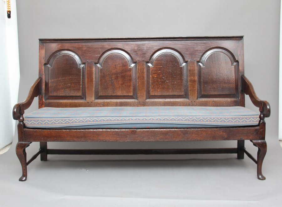 18th Century oak settle