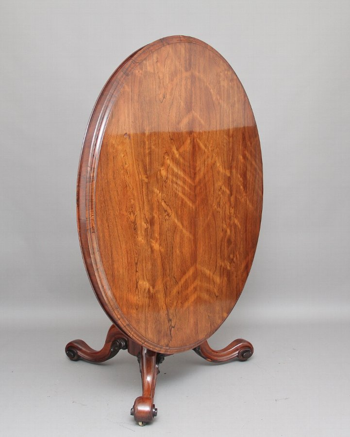 19th Century rosewood breakfast / centre table