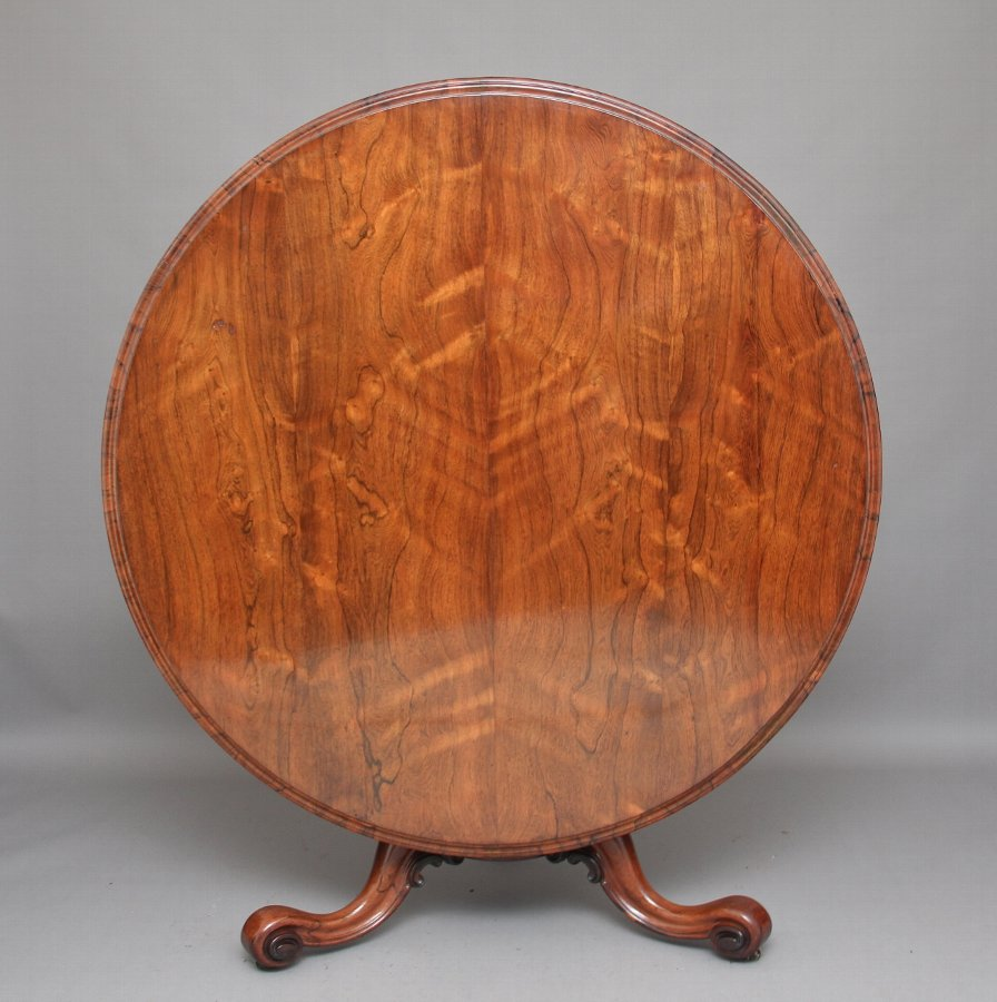 Antique 19th Century rosewood breakfast / centre table