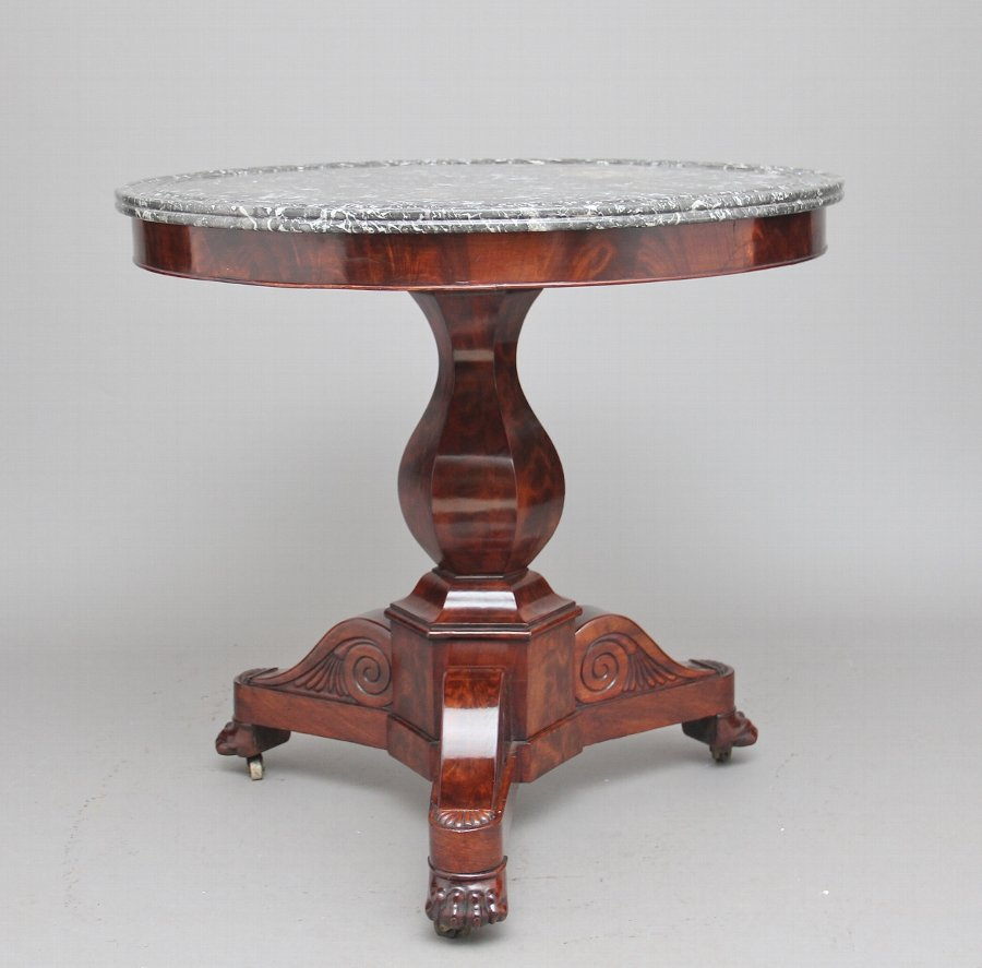 Early 19th Century mahogany gueridon table
