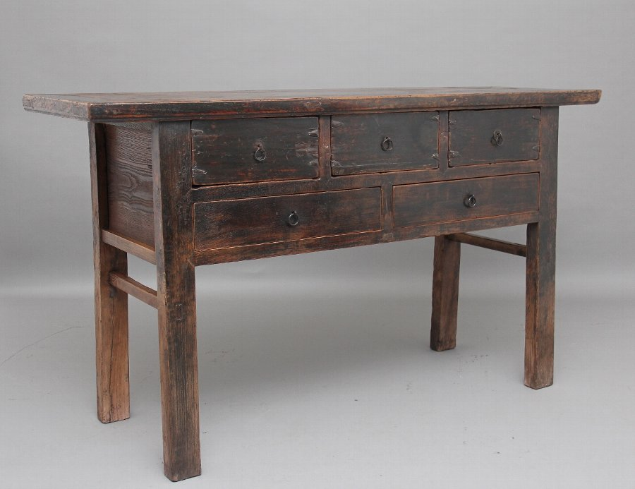 19th Century rustic Chinese dresser