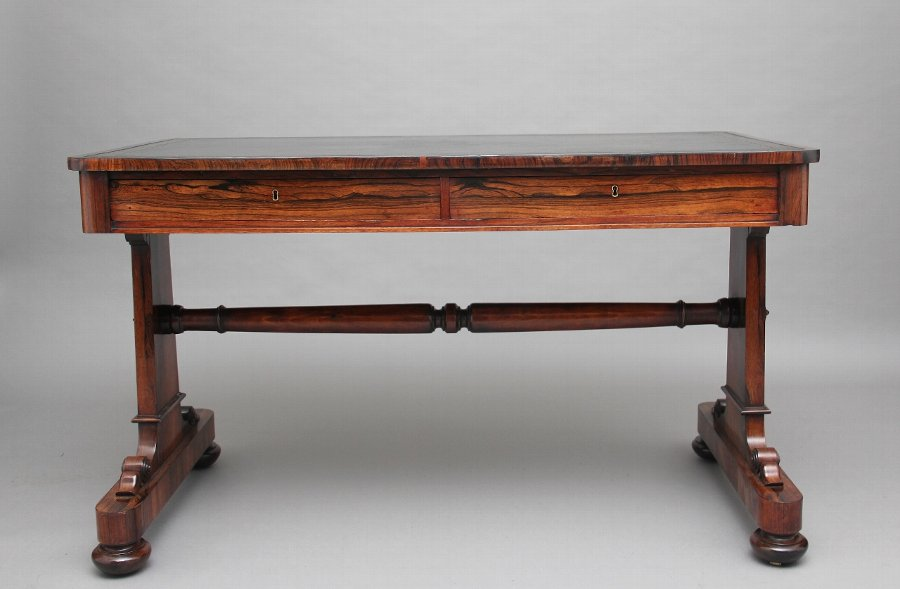 19th Century rosewood sofa table