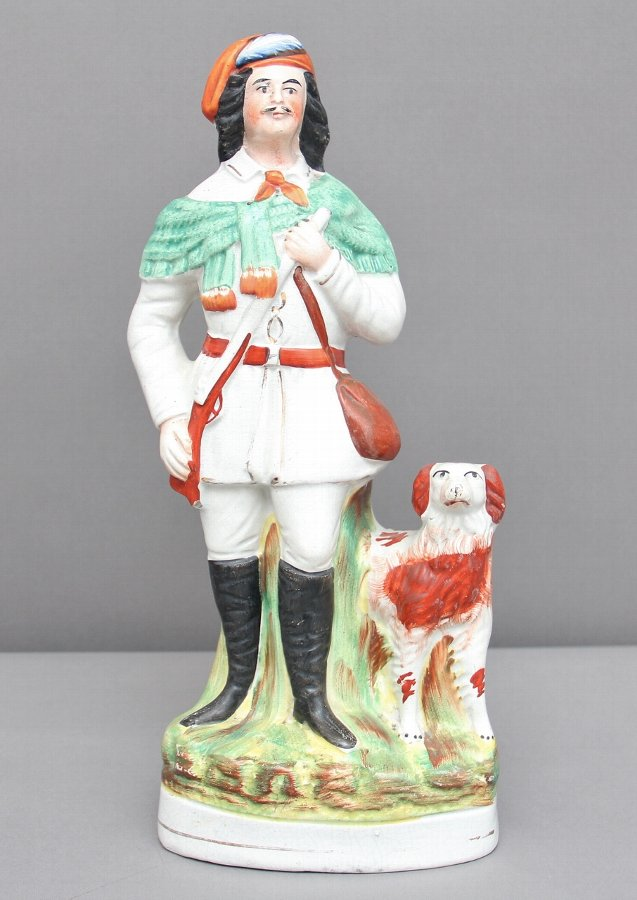 Antique 19th Century Staffordshire figure of the