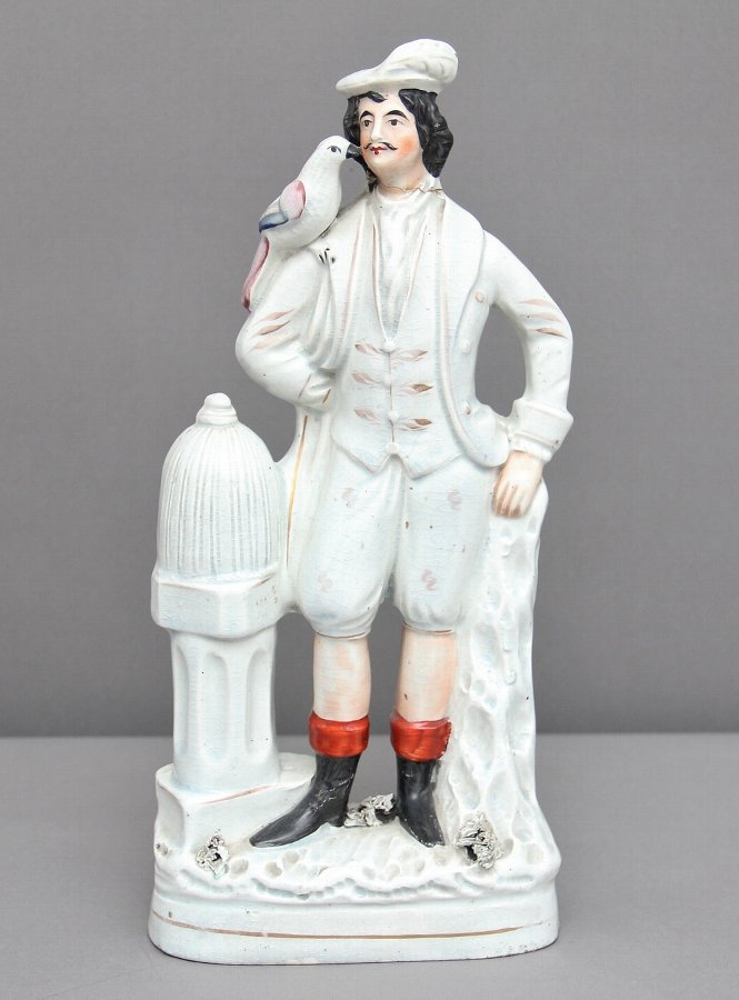 Staffordshire figure of a sailor
