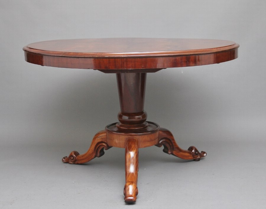 Antique 19th Century mahogany breakfast table