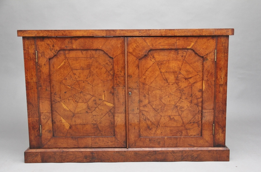 Early 19th Century pollard oak cabinet