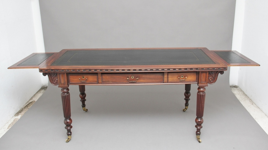 Antique Pair of early 19th Century mahogany library tables
