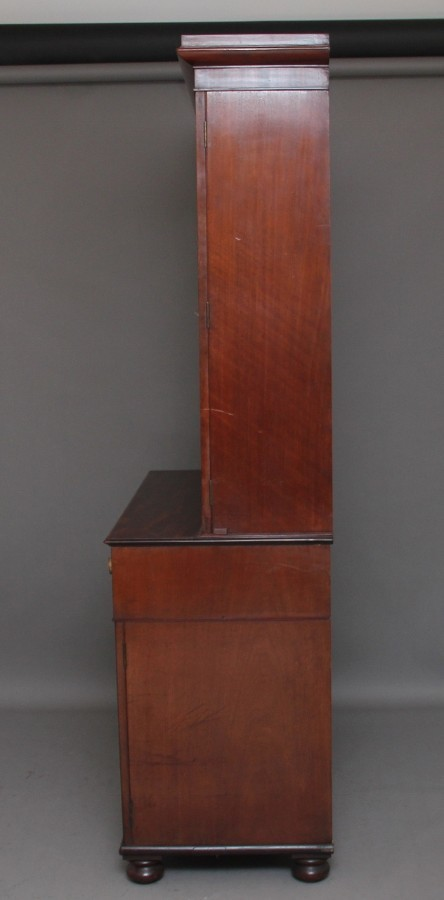 Antique Early 19th Century mahogany bookcase