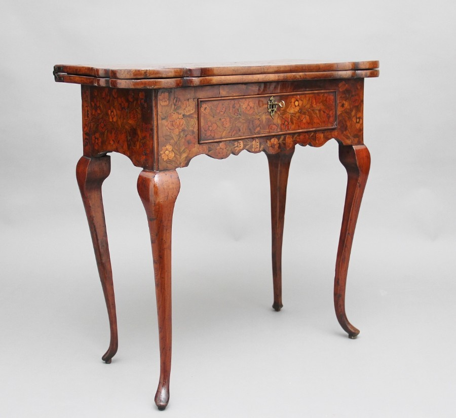 18th Century Dutch card table