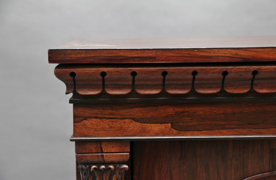 Antique 19th Century rosewood side cabinet