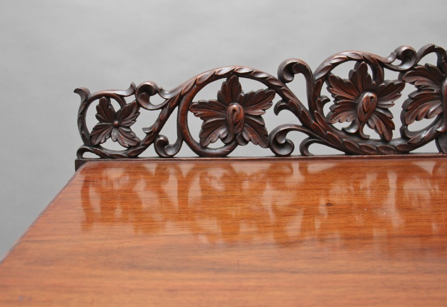 Antique Pair of 19th Century carved console tables