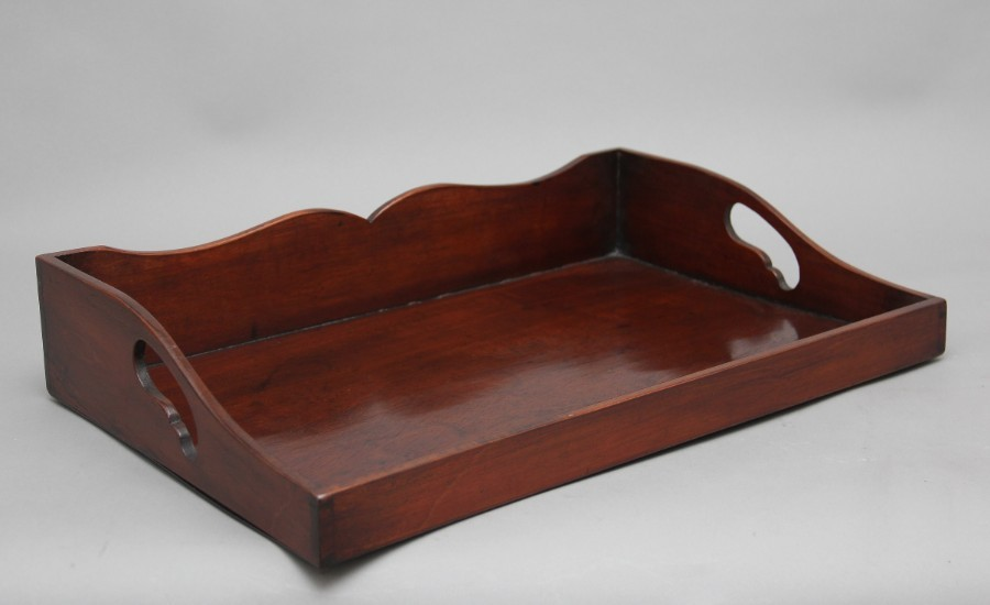 Early 19th Century mahogany tray