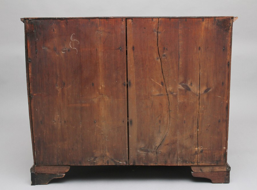Antique 18th Century oak chest of drawers
