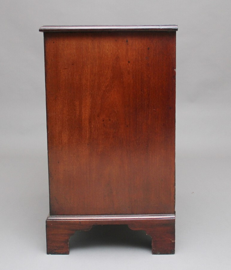 Antique 18th Century mahogany chest with slide