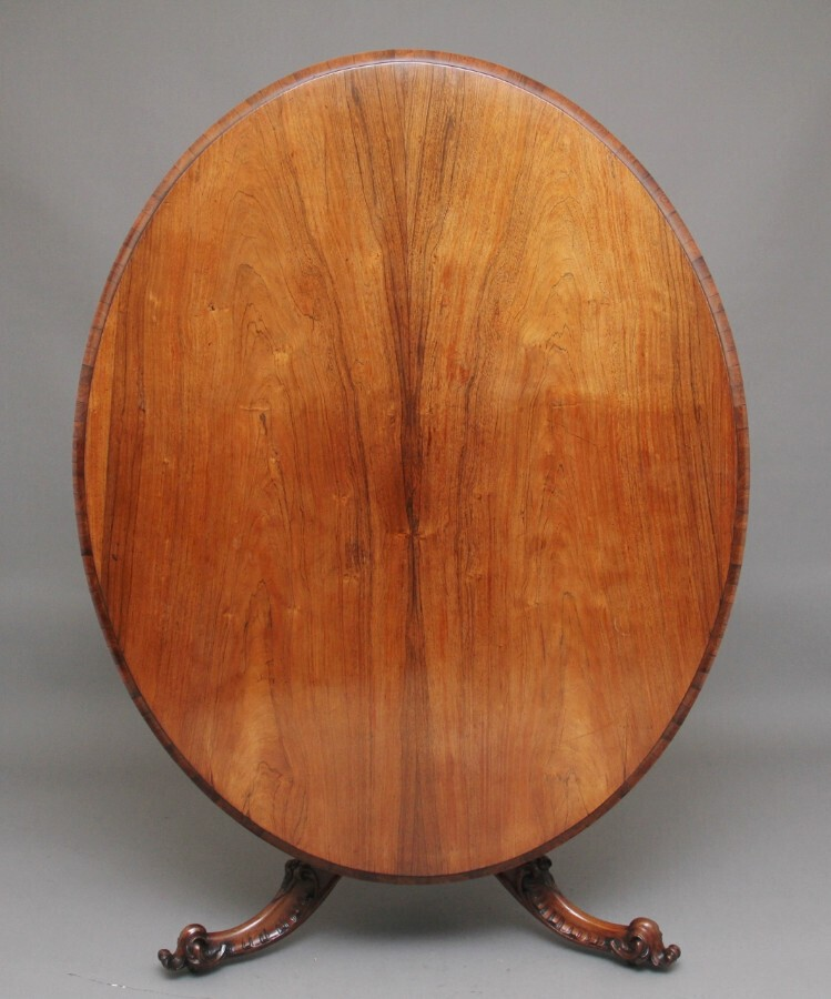 Antique 19th Century rosewood breakfast table