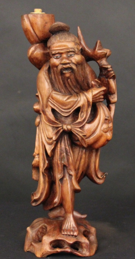 Chinese root carving