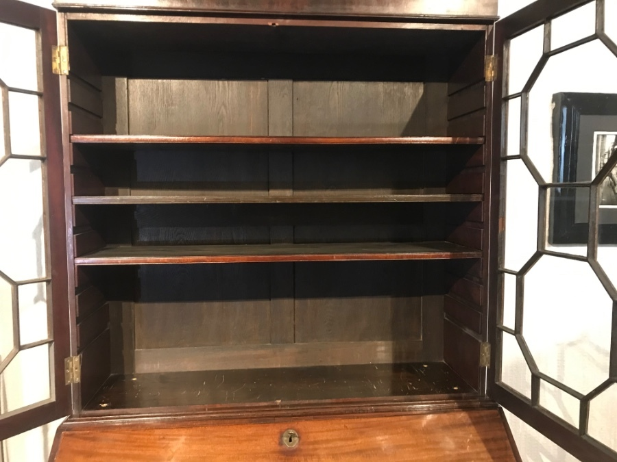 Antique 19th Century Bookcase & Bureau