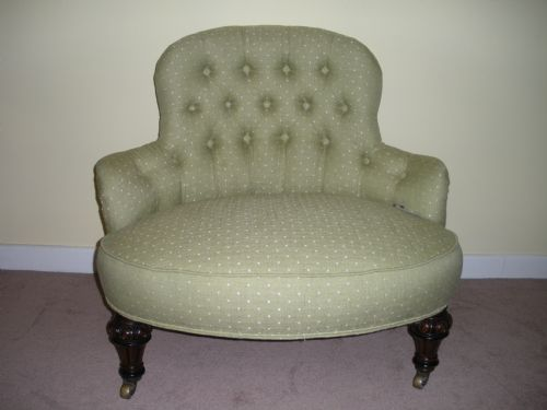Antique Small Victorian crinolyn chair