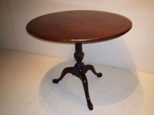 Fine George III mahogany Pedestal Table