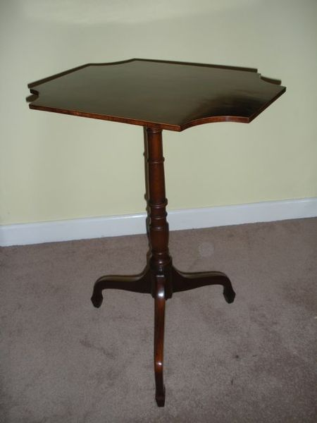 Antique 19th Century Mahogany Wine Table