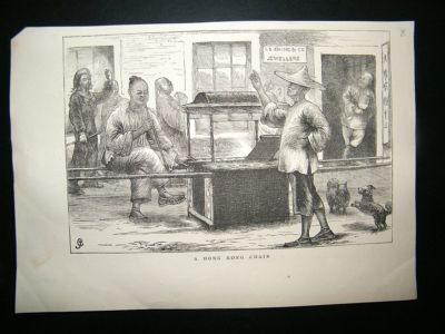 China Hong Kong: C1857 Lot of 7 Prints. Illustrated London News