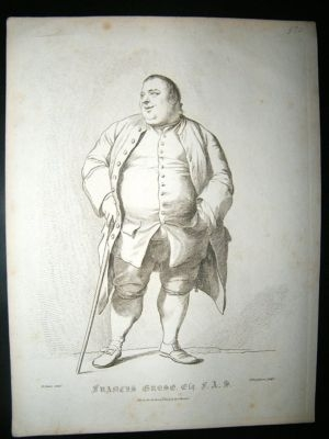 Antique Bartolozzi after Dance: 1787 Copper Plate.
