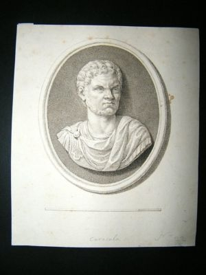 Antique Bartolozzi after Cipriani: C1785 Engraved Gem Print