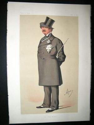 Antique Vanity Fair Print: 1875 Lord Alfred, Henry Paget