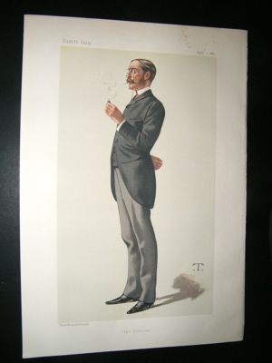Vanity Fair Print: 1882 George Errington