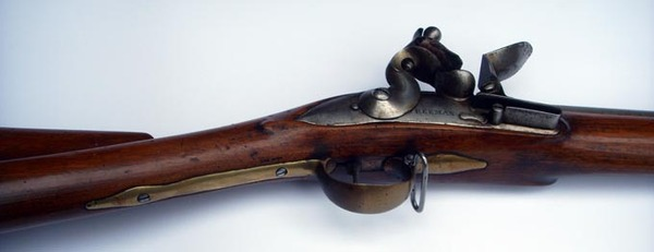 Antique Extremely rare 46 inch BROWN BESS MUSKET