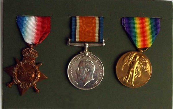 Antique Pte. A. MORRISON Medals