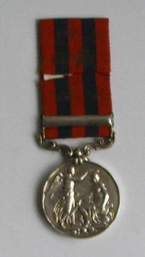 Antique J As. WARD 18th Royal Irish regiment medals