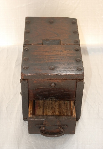 Antique 19th Century Japanese Offering Box