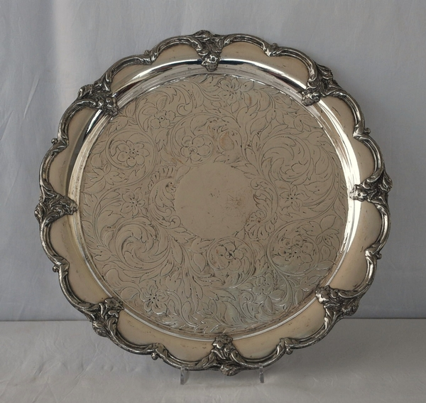 Old Sheffield Plate Salver
